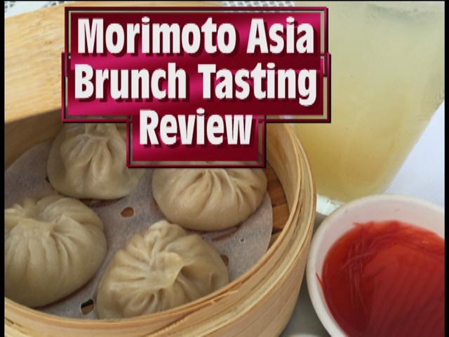 Morimoto Asia Brunch Tasting Review