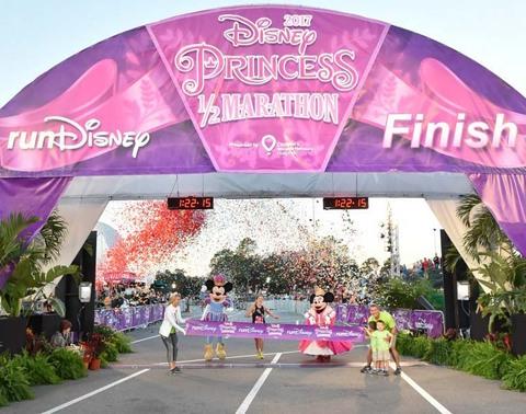 Kaitlyn Johnson Wins Princess Half Marathon