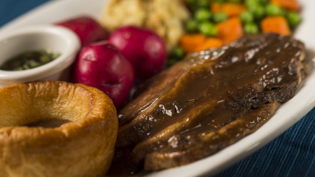 Sunday Roast Added to Rose and Crown Menu