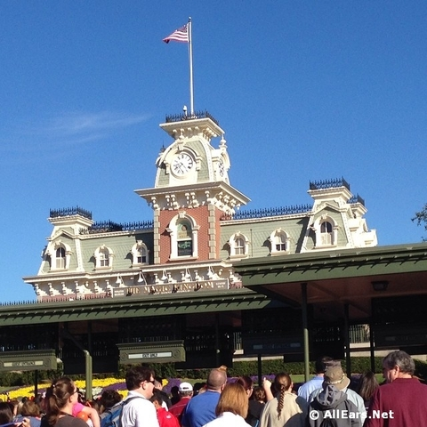Changes to Magic Kingdom Security Procedures