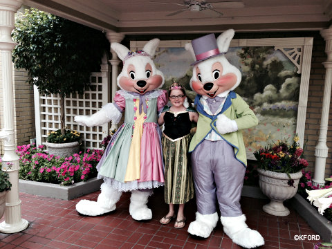 Meet the Easter Bunny at Magic Kingdom Until April 16
