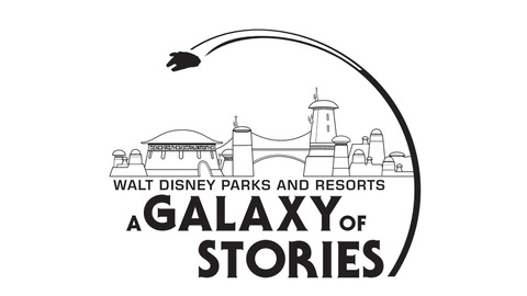 """Parks Pavilion Themed as """"A Galaxy of Stories"""" at D23 Expo"""