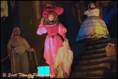 """Changes Ahead in 2018 for """"Redhead"""" in Pirates of the Caribbean Attraction"""