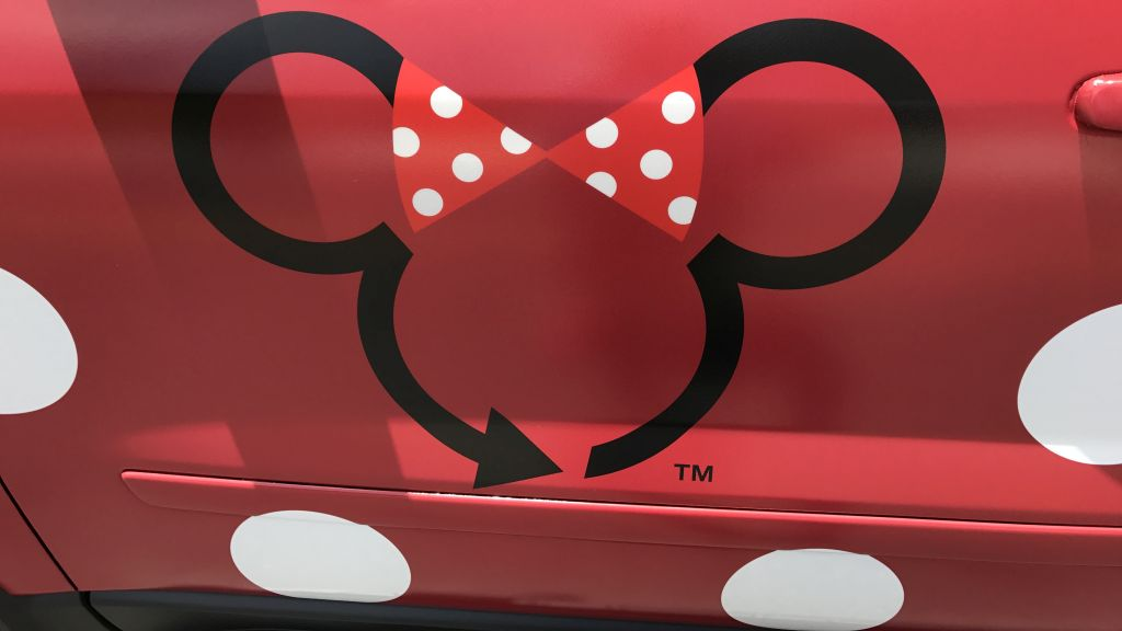 First Look Disney's Minnie Van Service