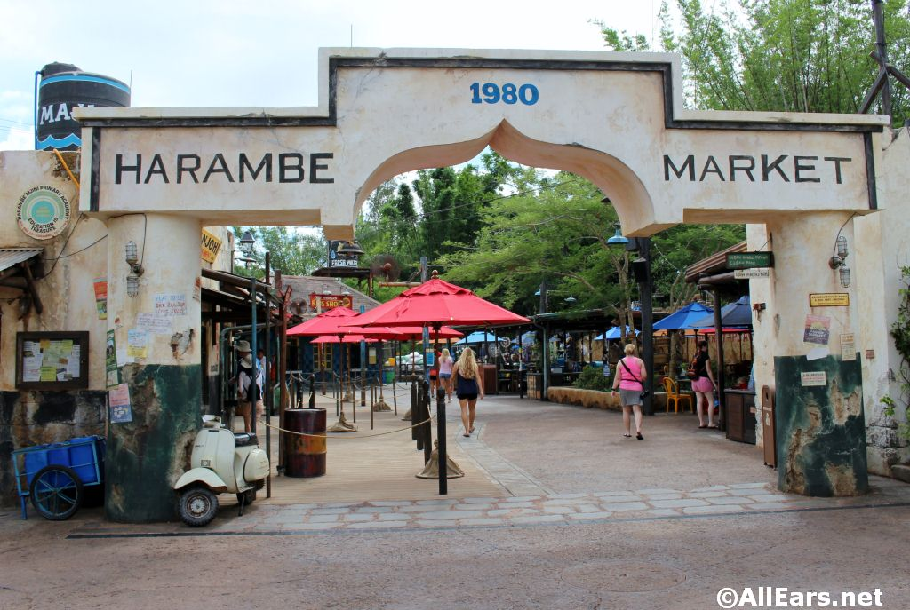 Mobile Ordering Now Available at Harambe Market