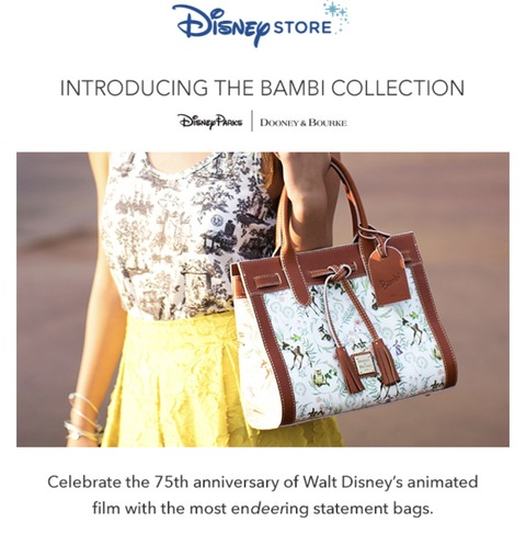 Dooney and Bourke's Bambi Collection Celebrates Anniversary