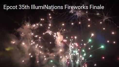 VIDEO: Epcot35 IllumiNations Finale