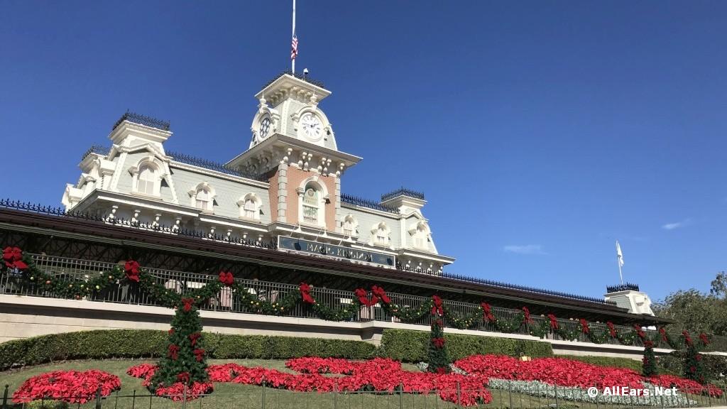 Holidays Arrive at the Magic Kingdom