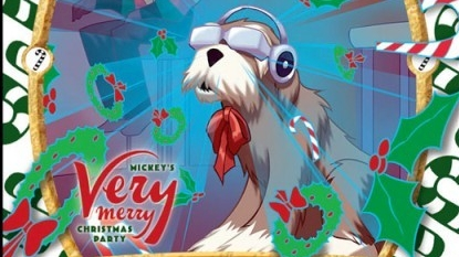 Exclusive Christmas Party Card Features Carousel of Progress