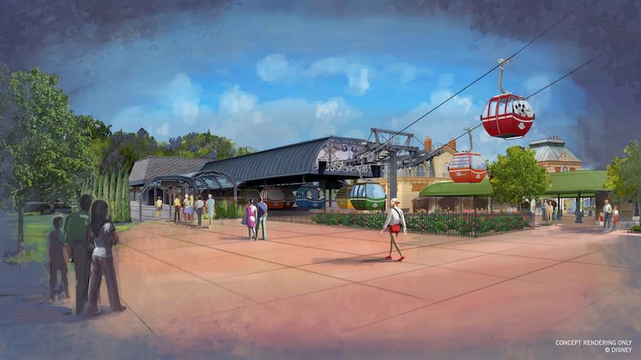 Details on the New Disney Skyliner Transportation System