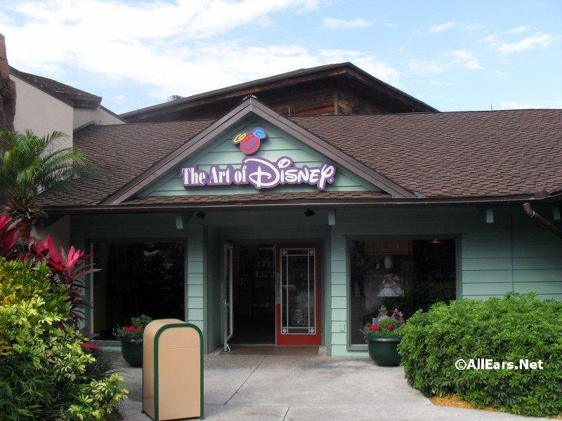 Kinkade Studios Artist Dick Wunderlich Signing at Art of Disney