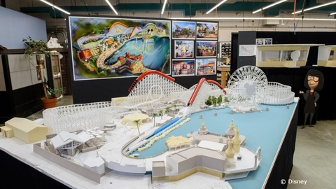 Model of DCA's Pixar Pier Revealed
