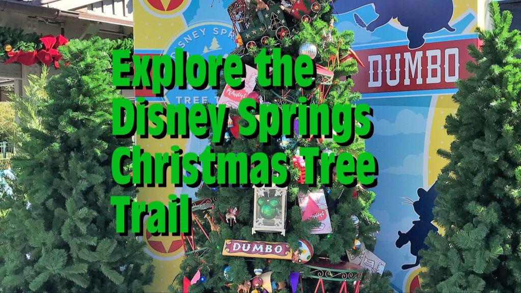 Disney Springs Christmas Tree Trail - Photos and Video