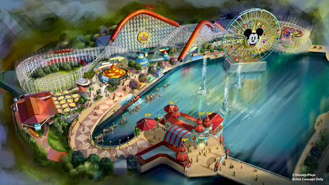 Portions of Paradise Pier Closing Jan 8 for Transformation