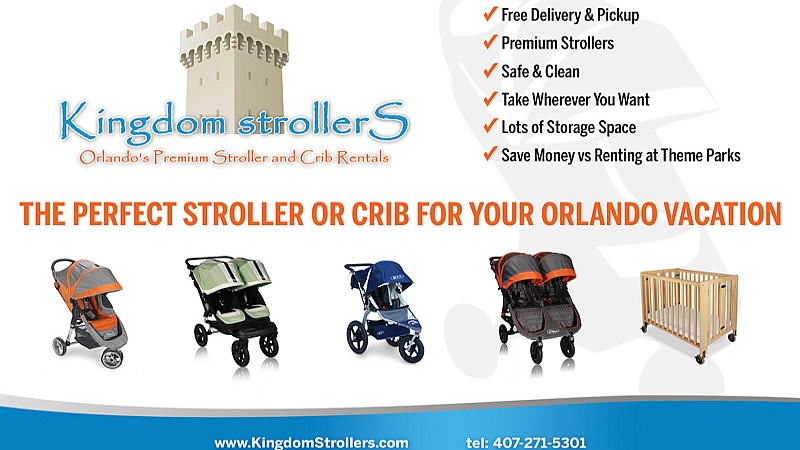 AllEars Announces Kingdom Strollers as Exclusive Stroller Rental Company