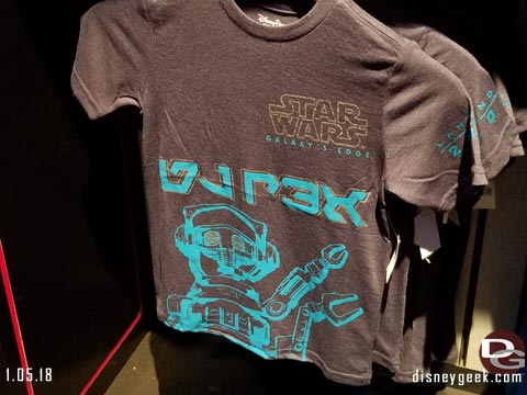 Galaxy's Edge Merchandise Available at Disneyland and WDW