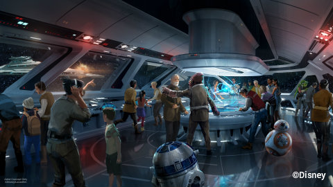 Star Wars Hotel to connect to Galaxy's Edge