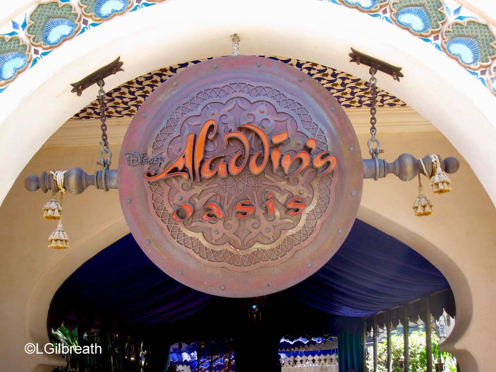 Aladdin's Oasis Transforming to Tropical Hideaway