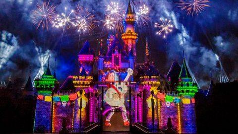 Images of Disneyland's Pixar Nighttime Spectacular Released
