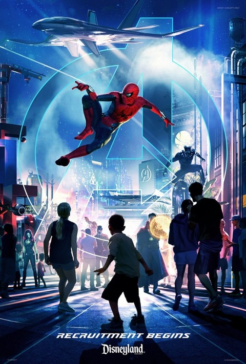 New Super Hero-Themed Land Coming to DCA