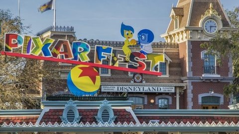 Pixar Fest Begins at Disneyland Resort!