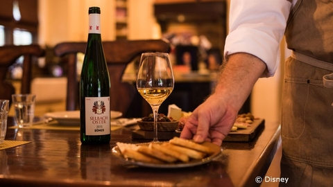 Wine Bar George Previews Menu Items