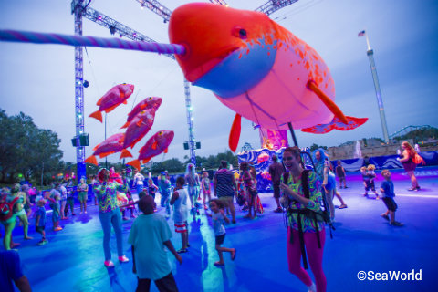 SeaWorld Orlando to Host Nighttime Electric Ocean Party