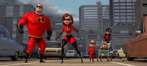 "Sneak Preview of  ""Incredibles 2"" Playing in DCA and Hollywood Studios"