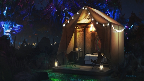 "Disney Contest Awards Guests Pandora ""Glamping"" Experience"