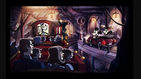 New Artwork Released for Mickey and Minnie's Runaway Railway