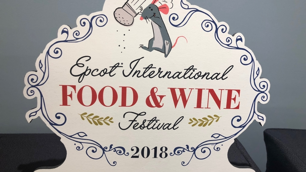Global Marketplace Menus for 2018 Epcot Food and Wine Festival!