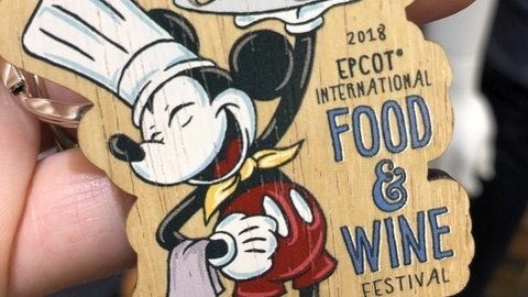 2018 Food and Wine Festival Merchandise and More!