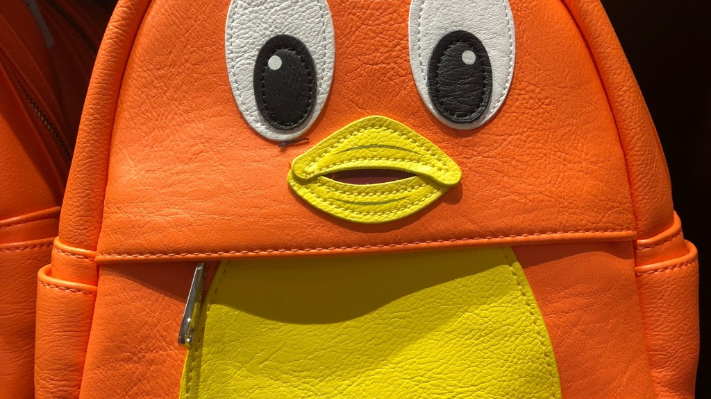 Orange Bird and Dole Whip Featured on Bags and Accessories!