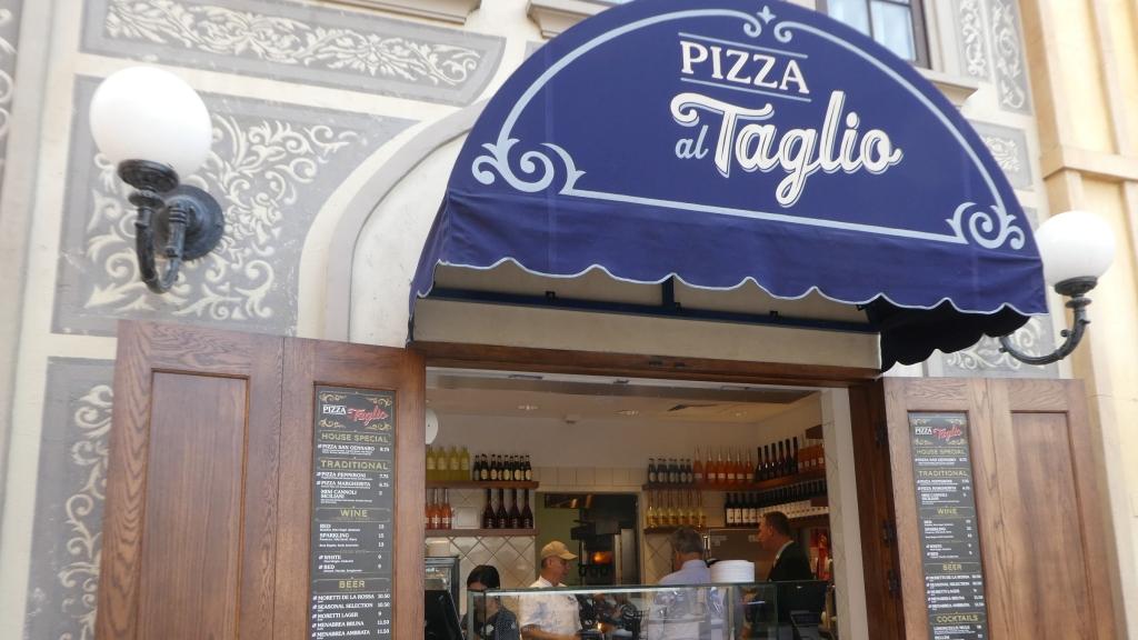 Pizza al Taglio Opens in Epcot's Italy!