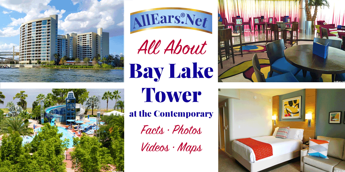 Bay Lake Tower Studio Floor Plan: Contemporary Disney Vacation Club Resort