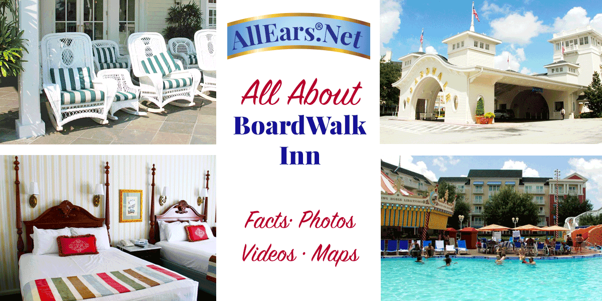 Disney\'s Boardwalk Inn Fact Sheet
