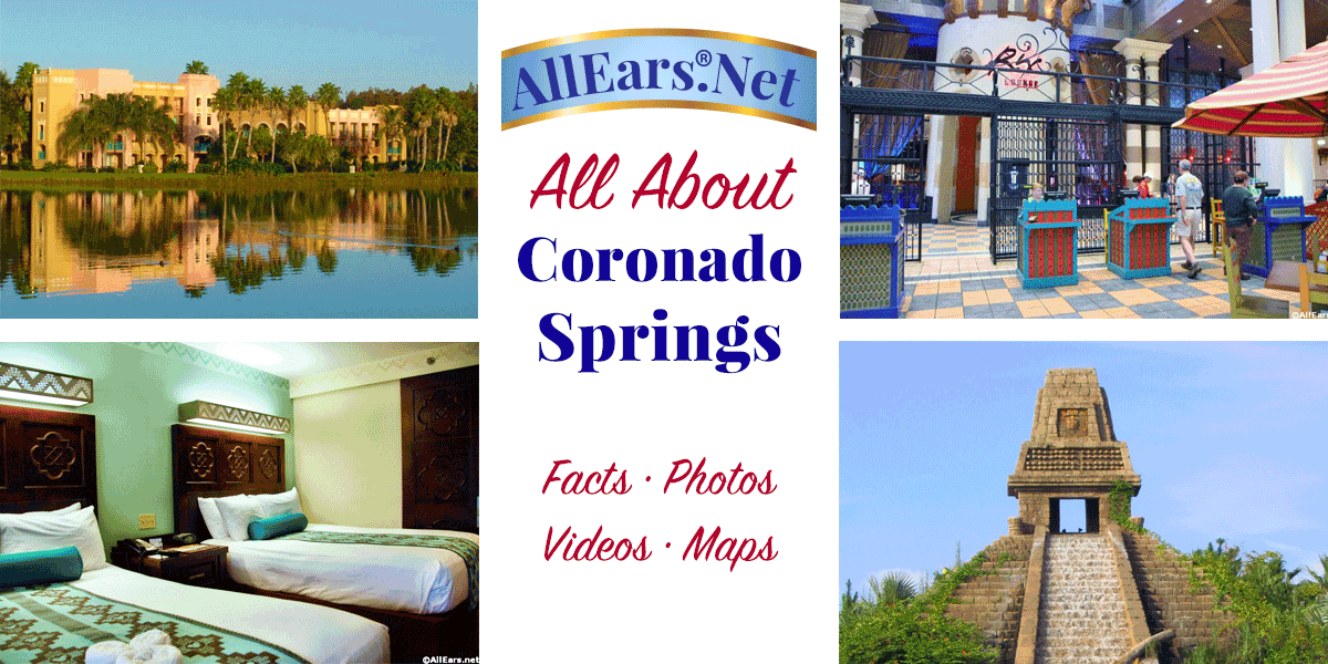 Coronado Springs Resort Fact Sheet Allearsnet