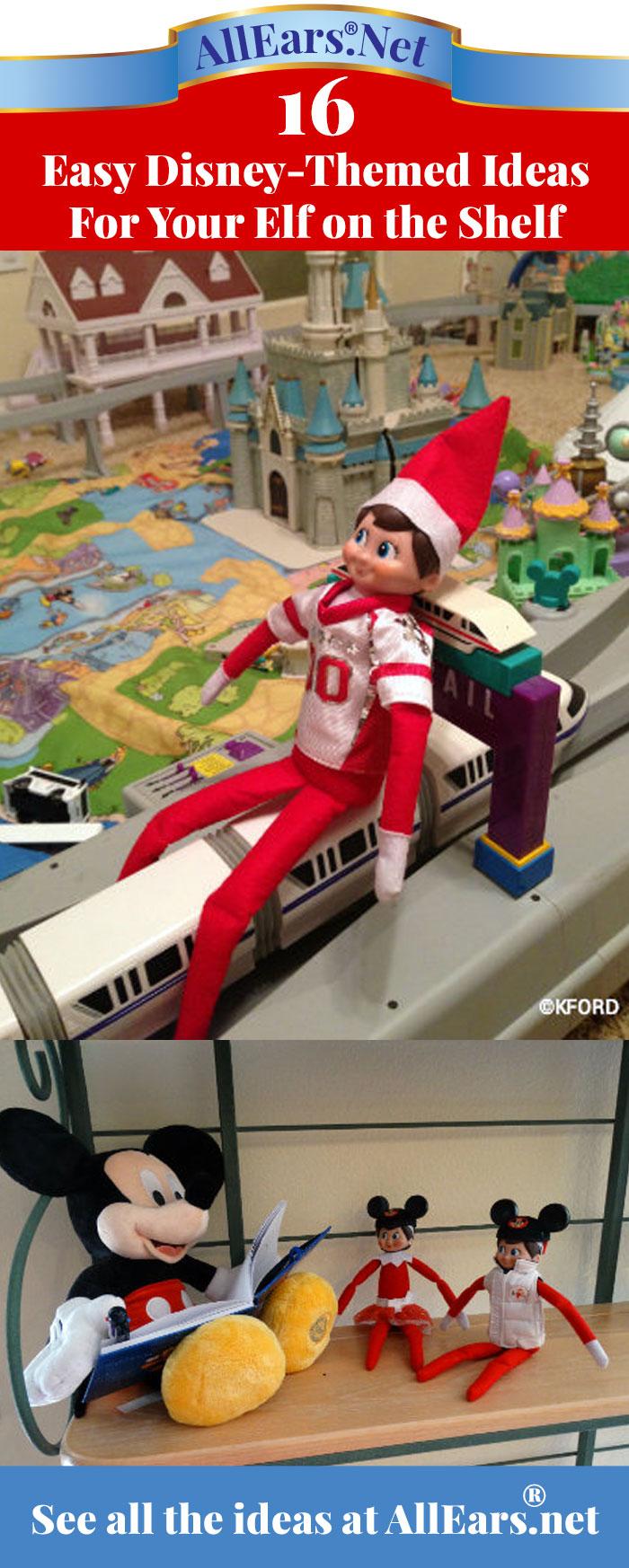 16 easy Disney-themed ideas for your Elf on a Shelf | AllEars.net