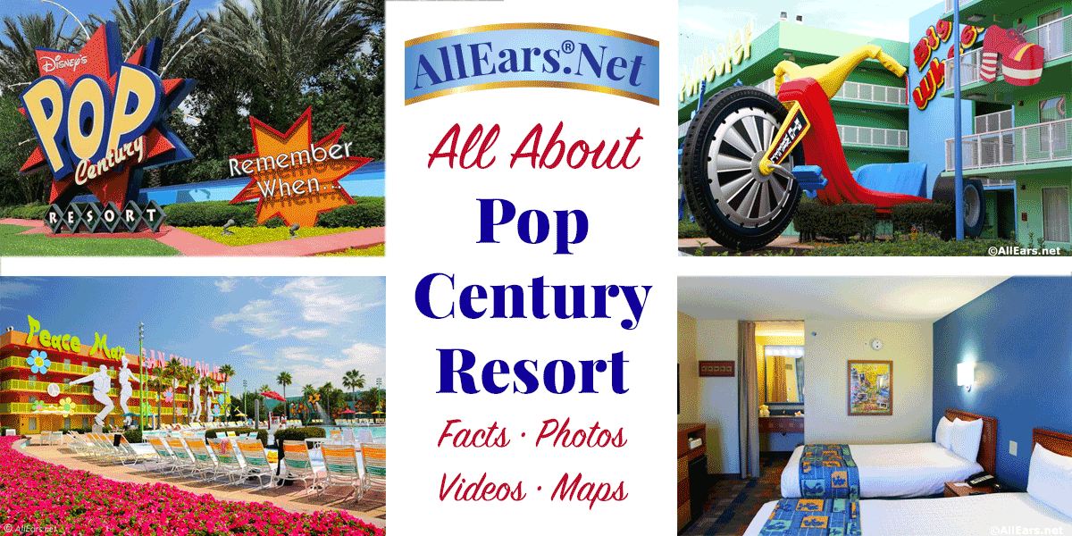 Pop Century Resort Value Resort at Walt Disney World ...