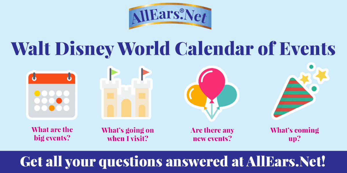 Disneyland Calendar Of Events Allears Net