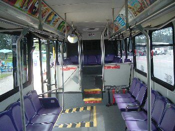 Low Floor bus interior