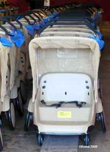 Disney World's Double Stroller