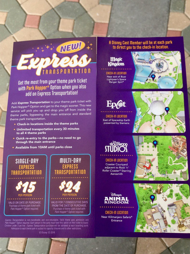 Express Transportation Flyer