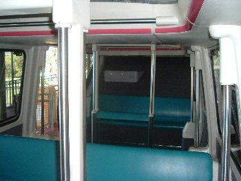 Monorail seating