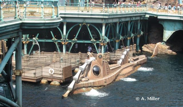 Tokyo DisneySea Nautilus