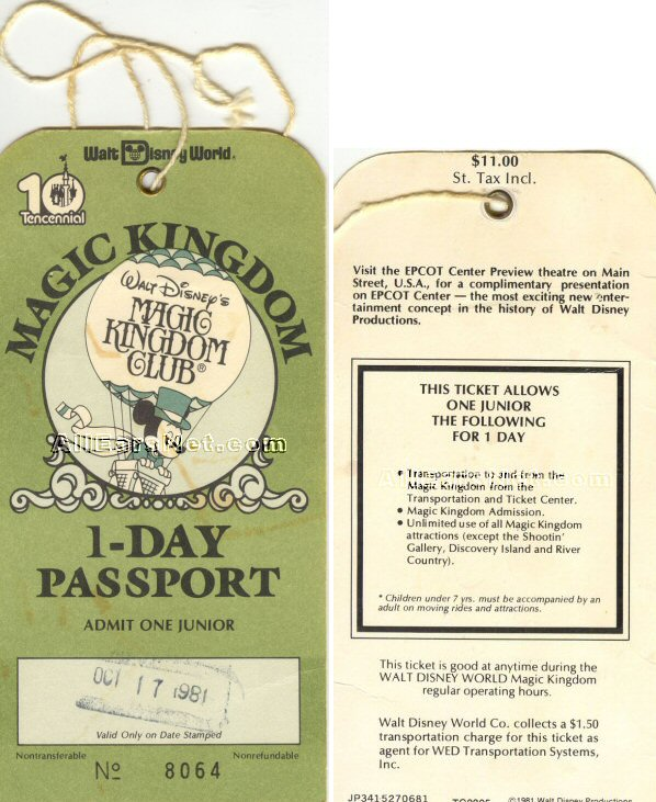 The First Passports In 1980 And 1981 Had A Large String Attached To Punched Hole Ticket So That You Could Wear Around Your Wrist Or On