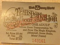 70s transportation ticket