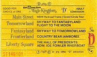 D Ticket Oct 1971