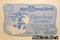 73 Showboat Cruise Ticket