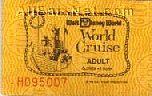 73 World Cruise Ticket